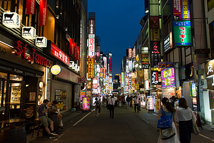 Kabukicho Street, Japan